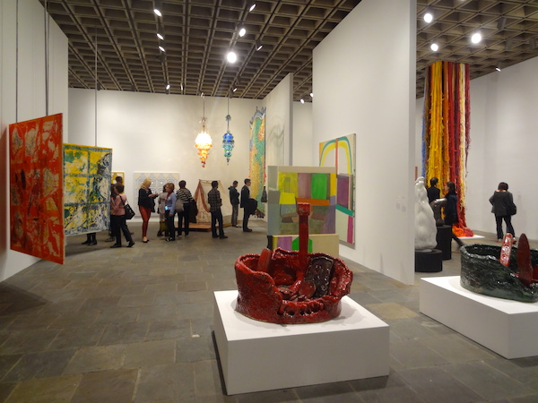 Installation view of the 2014 Whitney Biennial.